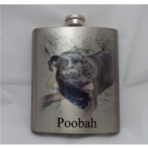Flask full color imprinting 6 oz